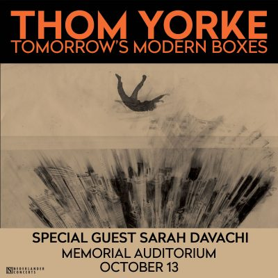 Thom Yorke with special guest Sarah Davachi