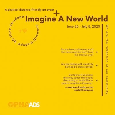 Call for Artist: Imagine a New World