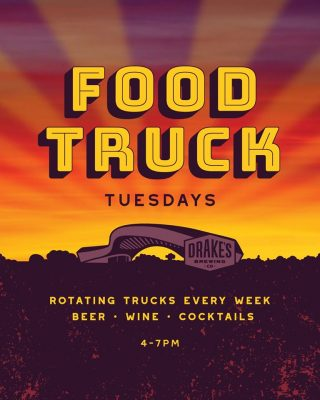 Food Truck Tuesdays at Drake's: The Barn