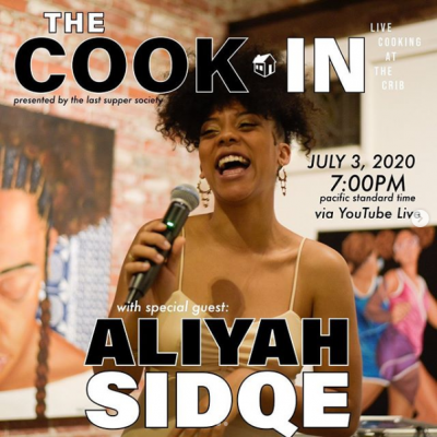 The Cook In with Aliyah Sidqe
