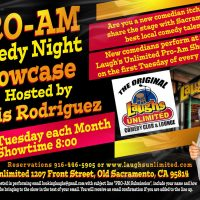 Pro-Am Comedy Night Showcase