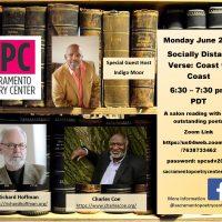 Sacramento Poetry Center Socially Distant Verse: Coast to Coast