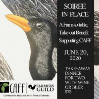 Soiree in Place: A Farm-to-Table Take-out Benefit Supporting Community Alliance with Family Farmers