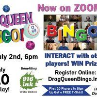Virtual Drag Queen Bingo