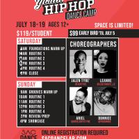Youth Hip Hop Dance Camp
