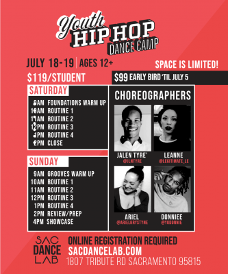 Youth Hip Hop Dance Camp