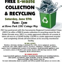 E-Waste Collection and Recycling Drive-Thru