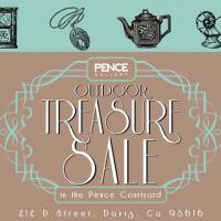 Pence Gallery's Outdoor Treasure Sale