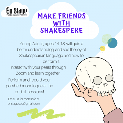 Make Friends with Shakespeare Online Classes