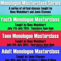 Adult Monologue Masterclass