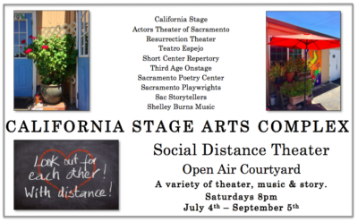 California Stage Arts Complex Social Distance Theater