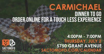 Carmichael Dinners To Go