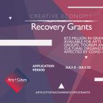 Creative Economy Recovery Grants Overview