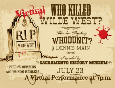 Who Killed Wilde West? A Gold Rush Mystery