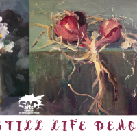 Still Life Painting Demo with Philppe Gandiol