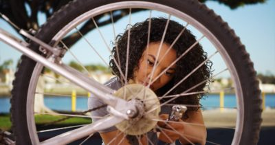 Beyond the ABCs of Bikes with Girl Scouts