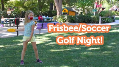 Family Frisbee and Soccer Golf Nights at Fairytale...