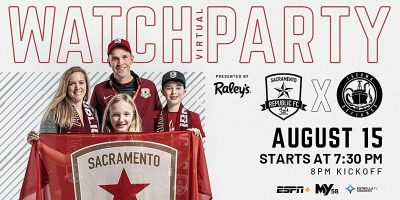 Sacramento Republic FC vs Tacoma Defiance Virtual Watch Party