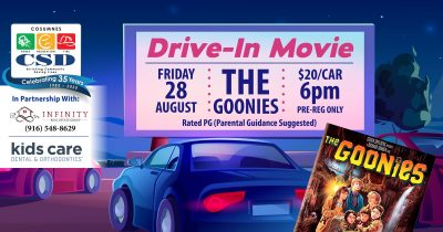 Cosumnes CSD Parks and Recreation Drive In: The Go...