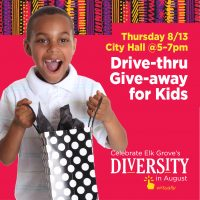 Drive-thru Diversity Day Giveaway for Kids