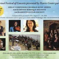 Sacramento Summer Music Virtual Festival of Concerts