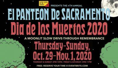 El Panteon de Sacramento Dia de los Muertos Drive-...