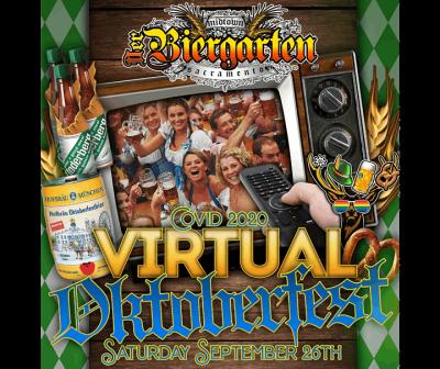 Midtown Biergarten COVID 2020 Virtual Oktoberfest