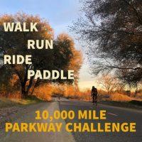 10,000 Mile Parkway Challenge