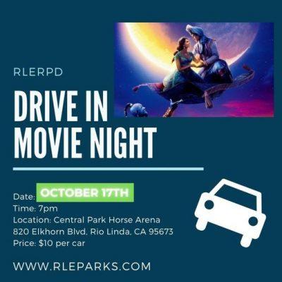 Drive-in Movie Night: Aladdin
