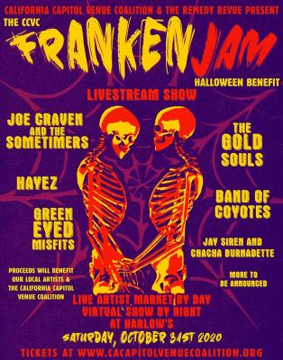The CCVC FrankenJam Halloween Benefit