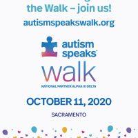 Sacramento Autism Speaks Virtual Walk