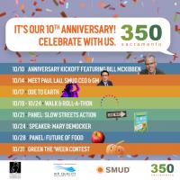 350 Sacramento's 10th Anniversary Celebration
