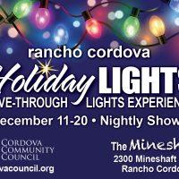 Rancho Cordova Holiday Lights Drive-Through