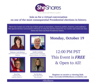 She Shares: Conversations With Women Leaders