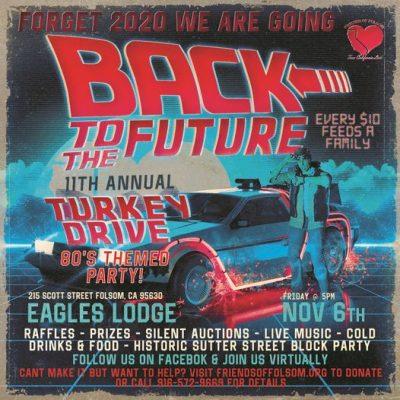 Back to the Future Annual Turkey Drive Fundraiser