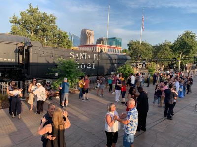 Dance on the Edge in the Old Sacramento Waterfront