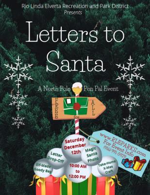 Letters to Santa: A North Pole Pen Pal Event