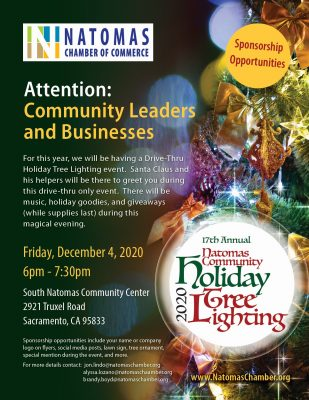 Natomas Holiday Tree Lighting