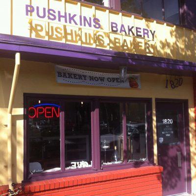 Pushkin's Thanksgiving 2020 Menu