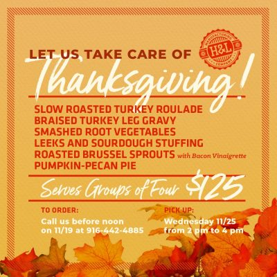 Thanksgiving Dinner by Hook and Ladder Manufacturing Co.