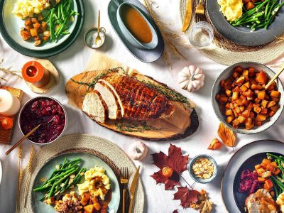 Thanksgiving Fit Feast with Fit Eats