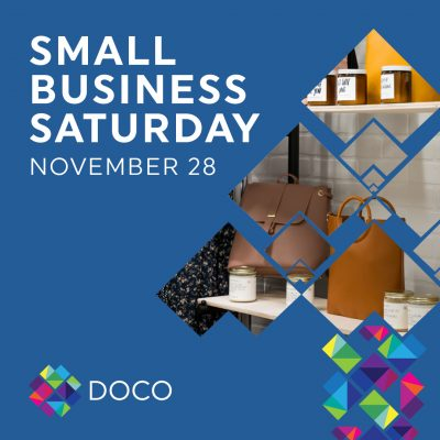 Small Business Saturday in DOCO Sacramento