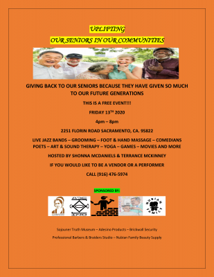 Uplifting Our Seniors Community Event