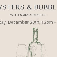 Oysters and Bubbles with The Rind