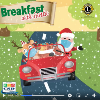 Drive-Thru Breakfast with Santa