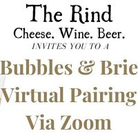 The Rind Bubbles and Brie Virtual Pairing