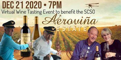 Virtual Wine Tasting Fundraiser with Aeroviña Estate
