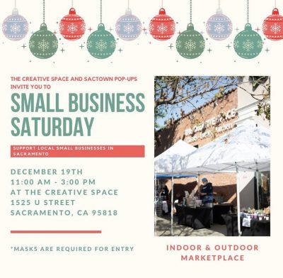 The Creative Space Small Business Saturday