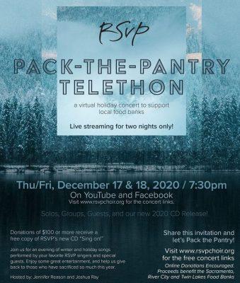 RSVP Choir Pack the Pantry Telethon Event
