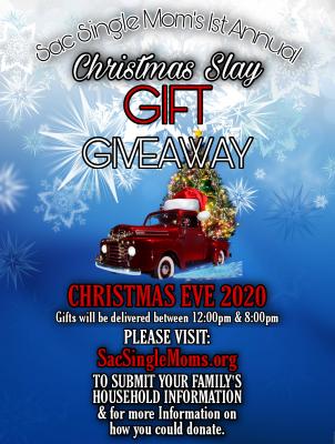 Sac Single Moms Christmas Slay Gift Giveaway